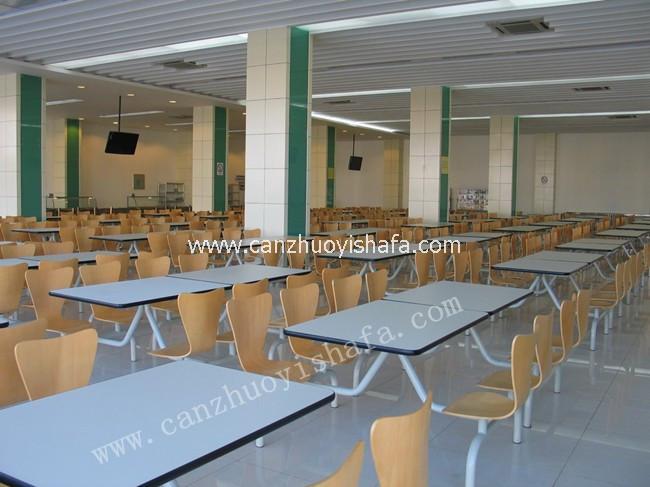 食堂餐桌椅-T0518