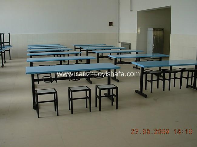 食堂餐桌椅-T0538