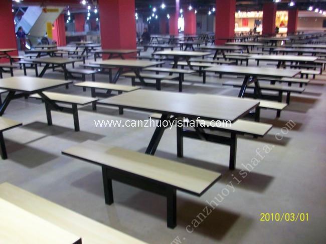 食堂餐桌椅-T0545