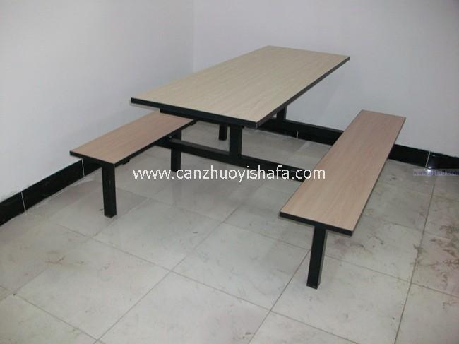 食堂餐桌椅-T0546