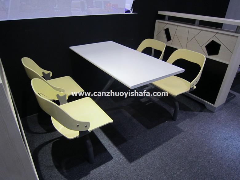 食堂餐桌椅-T0560