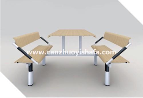 食堂餐桌椅-T0561