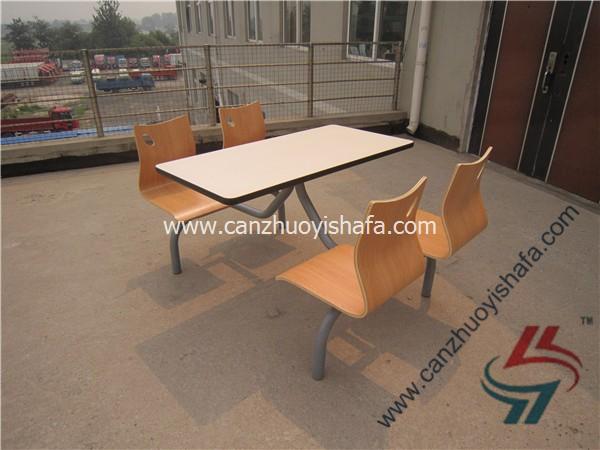 食堂餐桌椅-T0563