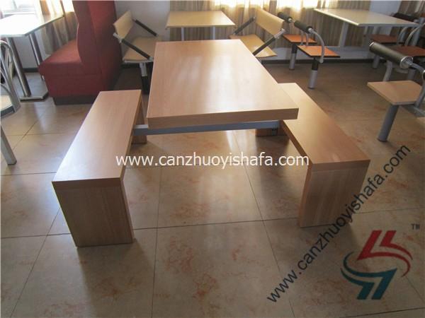 食堂餐桌椅-T0564