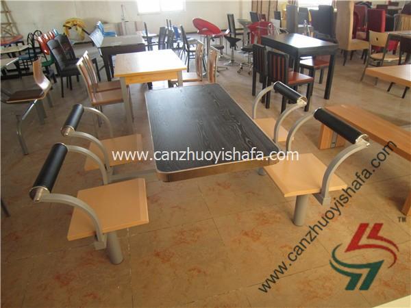 食堂餐桌椅-T0565