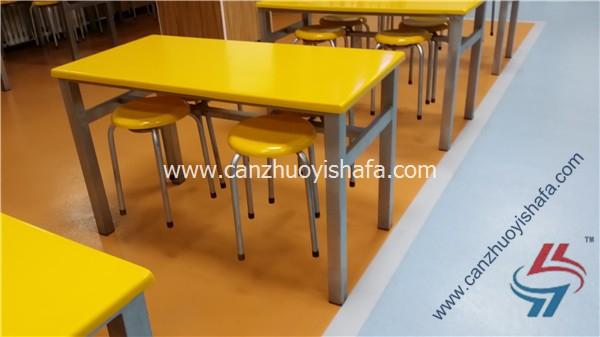食堂餐桌椅-T0571