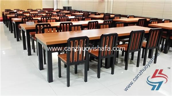 食堂餐桌椅-T0572