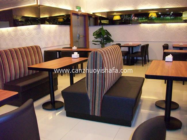 餐厅卡座沙发-K09001