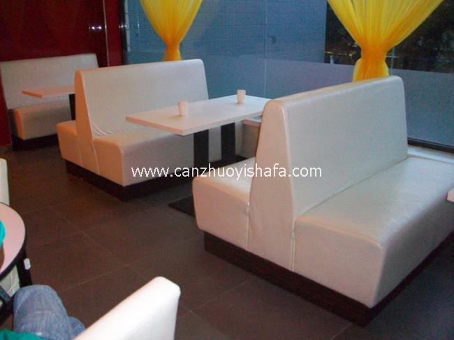 餐厅卡座沙发-K09013