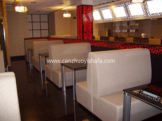 餐厅卡座沙发-K09014