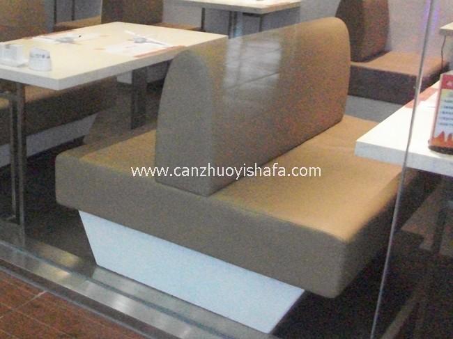 餐厅卡座沙发-K09029