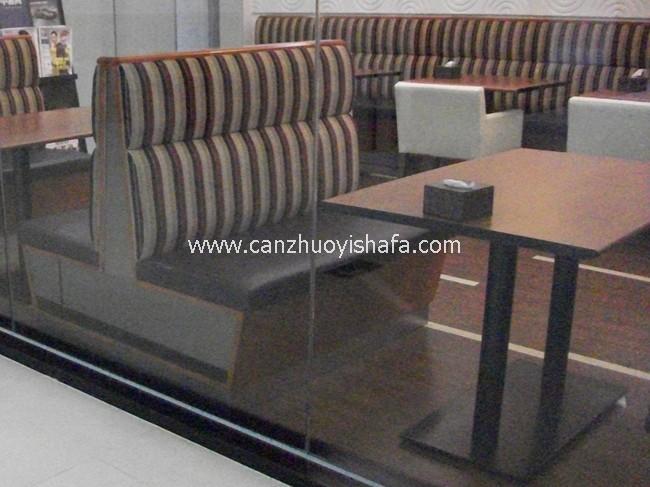 餐厅卡座沙发-K09030