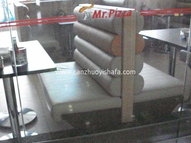 餐厅卡座沙发-K09031