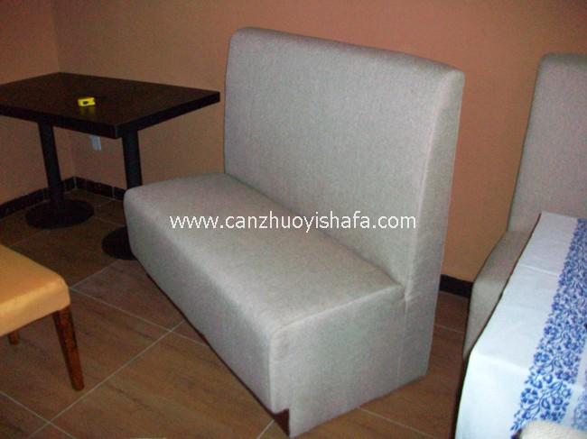 餐厅卡座沙发-K09122