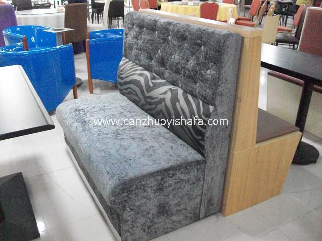 餐厅卡座沙发-K09124