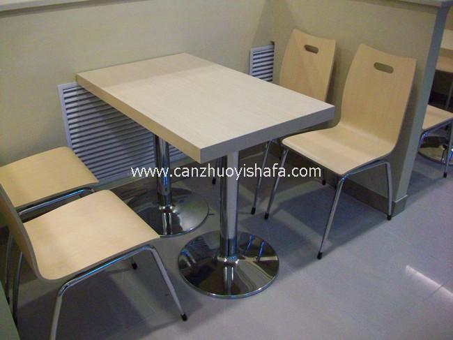 麦当劳桌椅-T1501