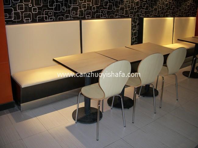 麦当劳餐厅桌椅-T1503
