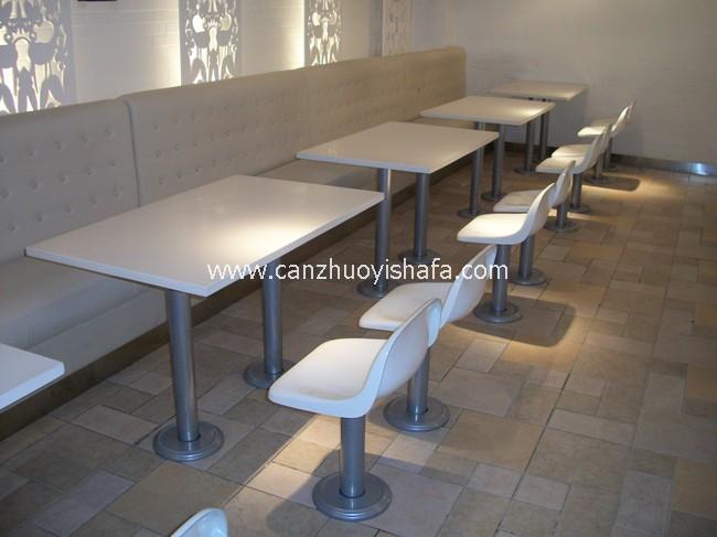 麦当劳餐厅家具-T1509