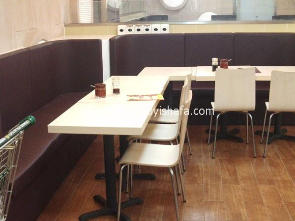 肯德基餐厅卡座沙发-T1525