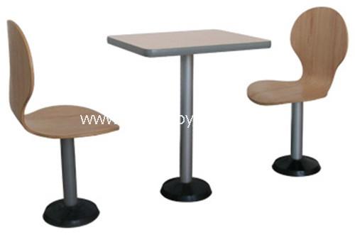 麦当劳餐厅家具-T1531