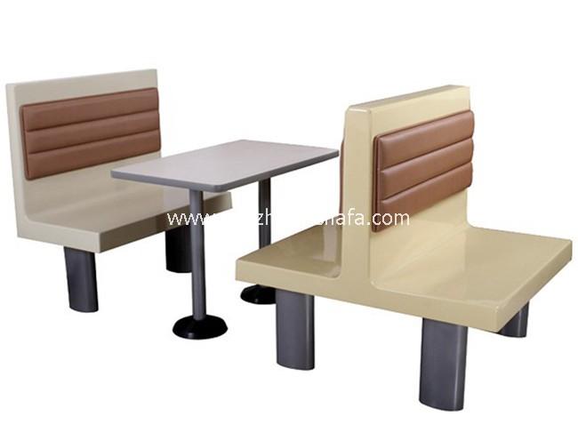 肯德基餐厅卡座沙发-T1538