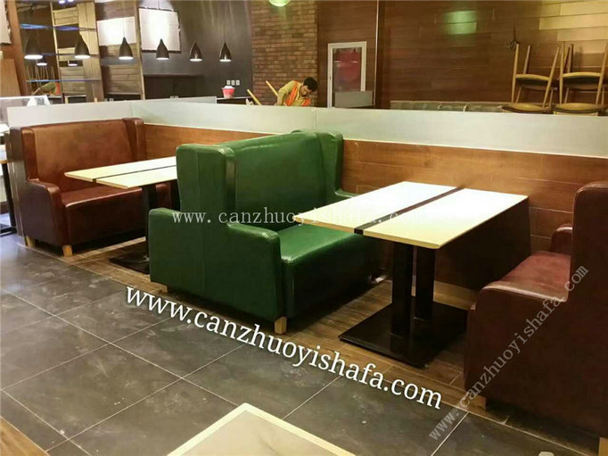 餐厅卡座沙发-K09156