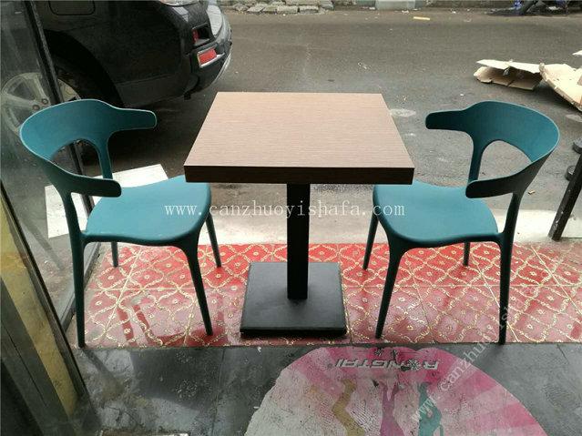 快餐桌椅-T02016