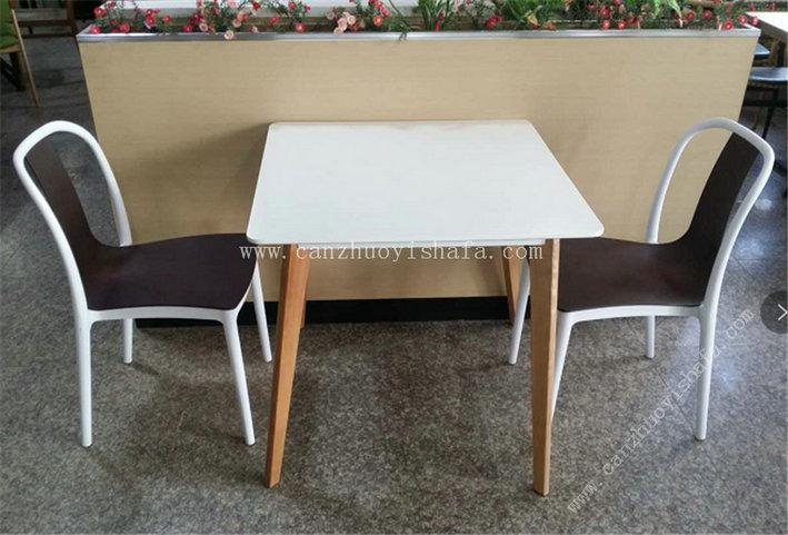 快餐桌椅-T02082