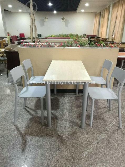 快餐桌椅-T02086
