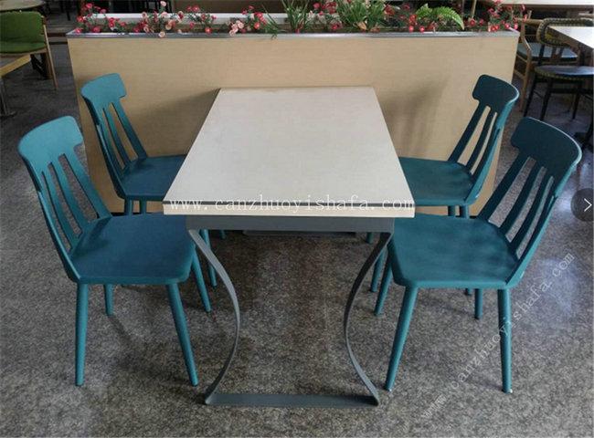 快餐桌椅-T02090
