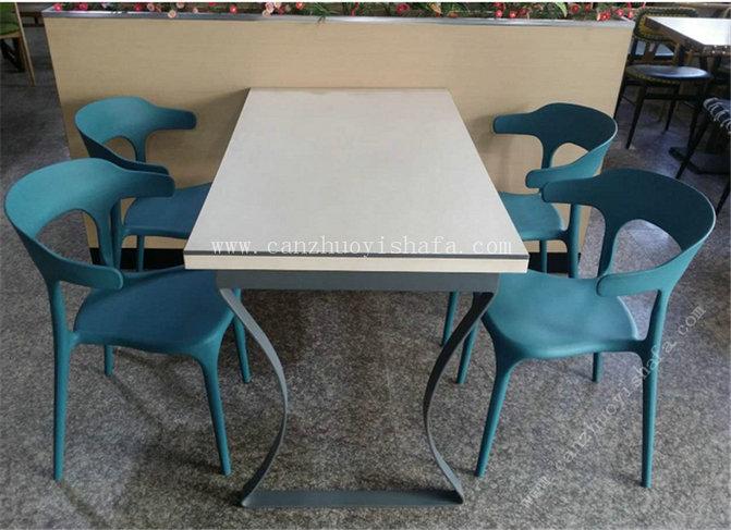 快餐桌椅-T02091