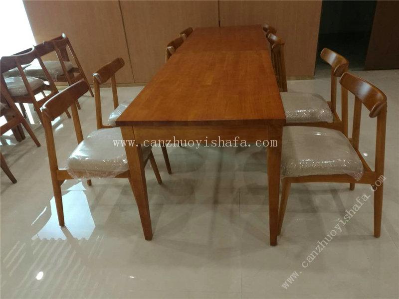 实木餐桌椅-T0627