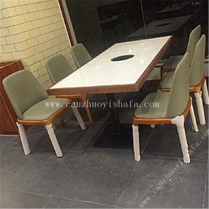 火锅桌椅-T0717