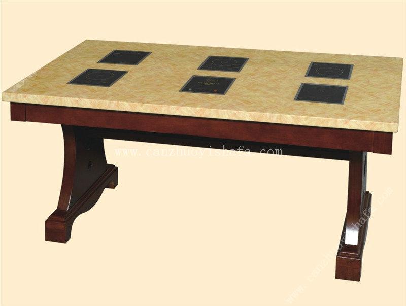 火锅桌椅-T0719