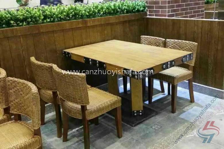 时尚餐桌椅-T09109