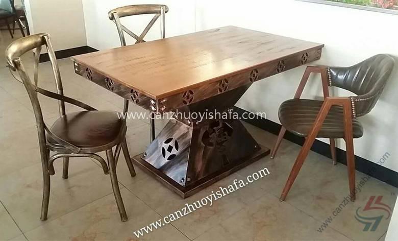 时尚餐桌椅-T09122
