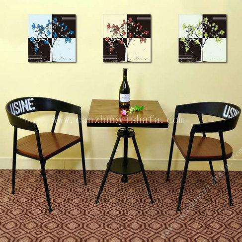 主题餐厅桌椅-T09236