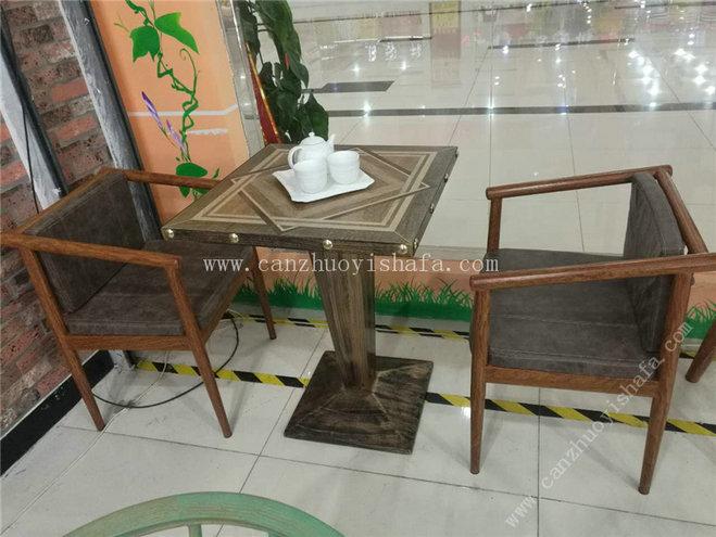 主题餐厅桌椅-T09240
