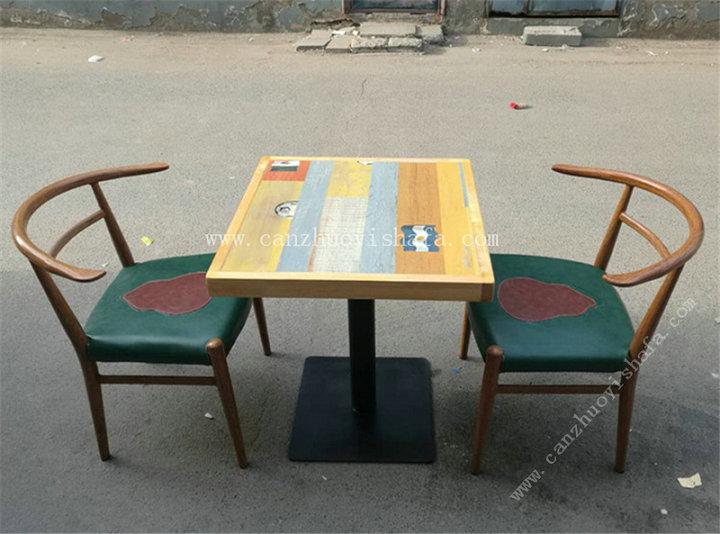 主题餐厅桌椅-T09242