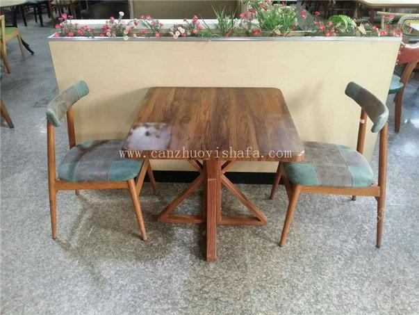 主题餐厅桌椅-T09250