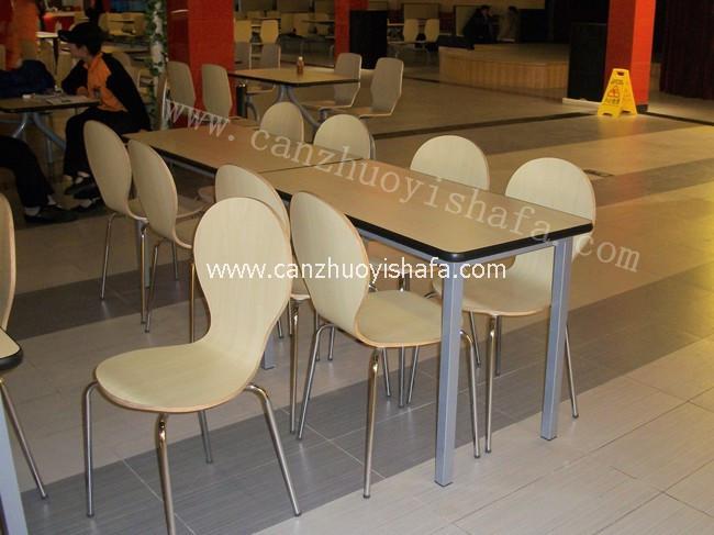 快餐桌椅-T02103