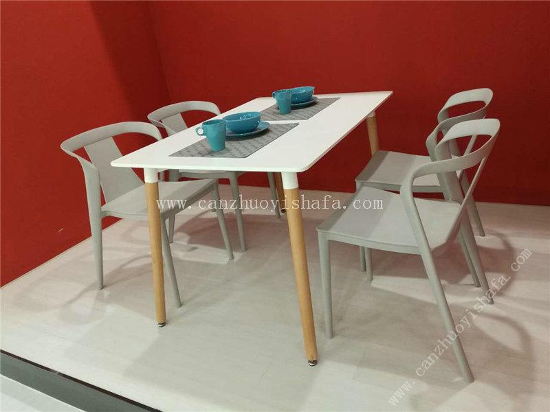 快餐桌椅-T02104