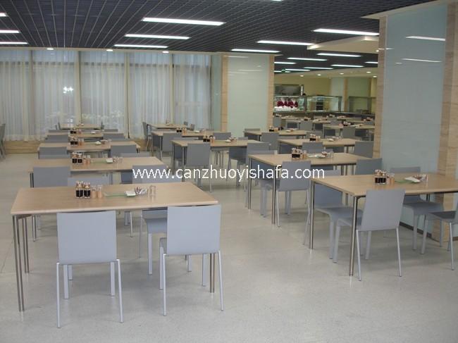 快餐桌椅-T02106
