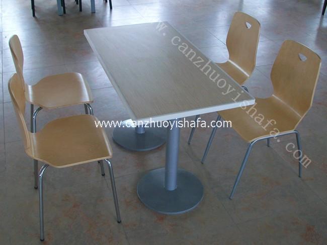 北京快餐桌椅-T02109