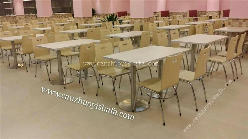 北京快餐桌椅-T02110