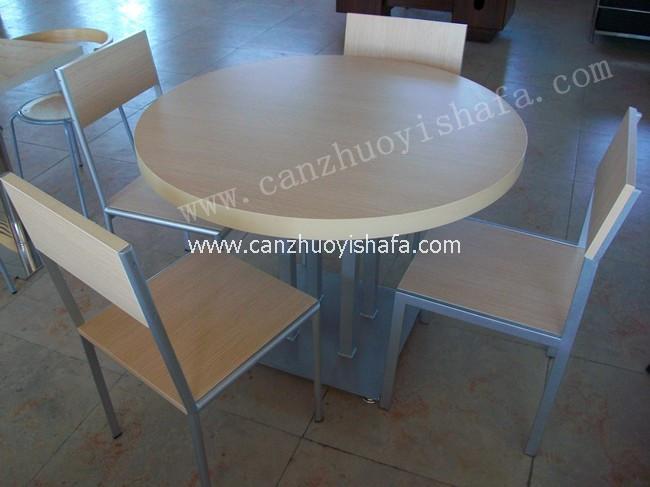 分体快餐桌椅-T02115