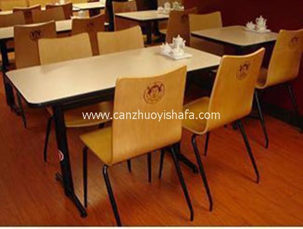 快餐桌椅-T02117