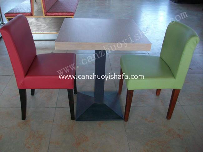 北京快餐桌椅-T02121