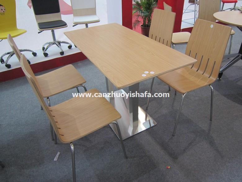 北京快餐桌椅-T02128