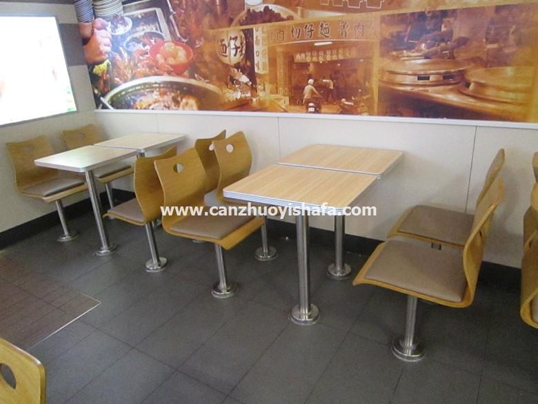 分体快餐桌椅-T02136